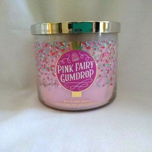 Bath & Body Works Pink Fairy Gumdrop Scented